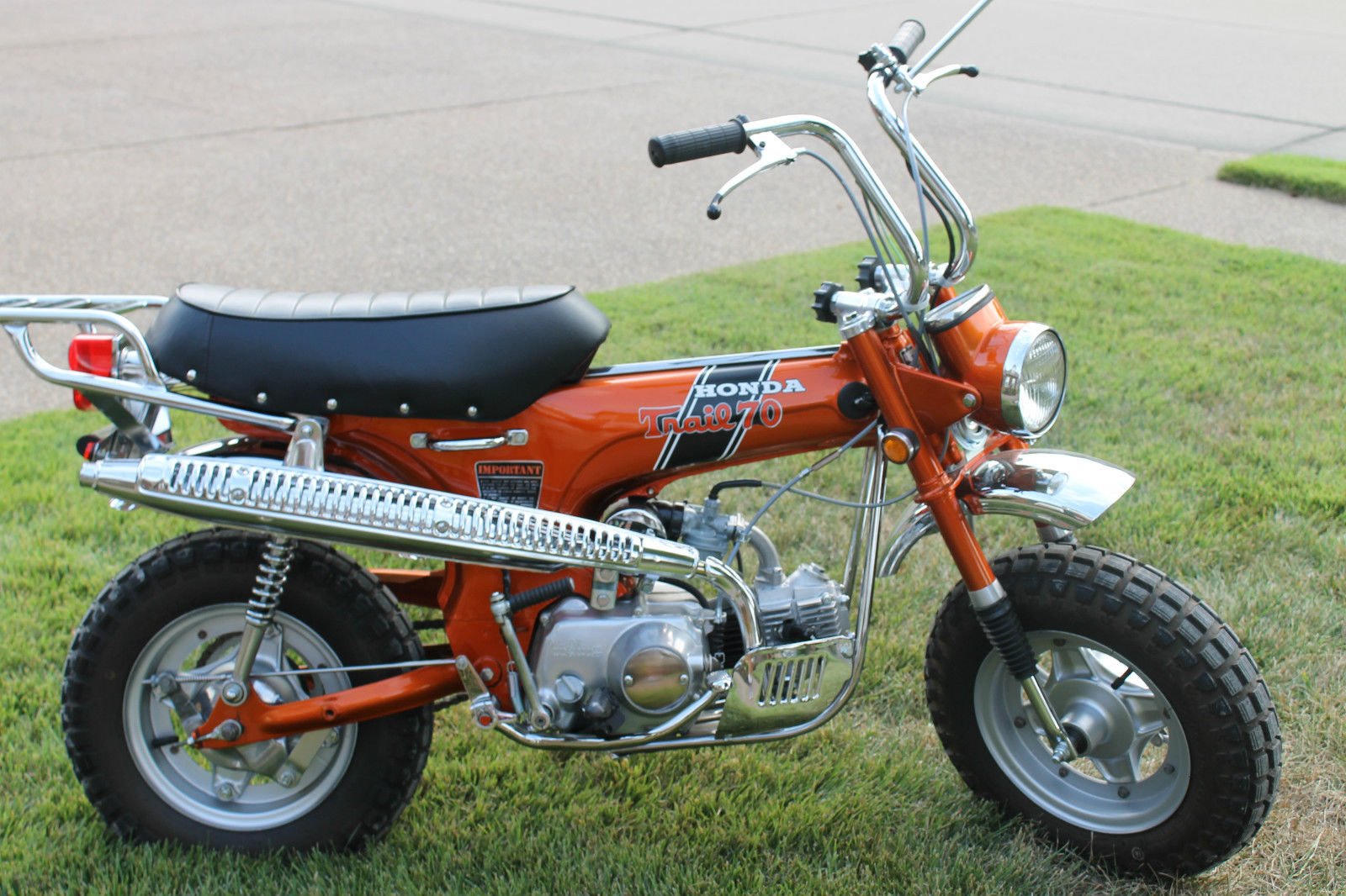 Hondact on 1971 Honda Ct70 Bikes