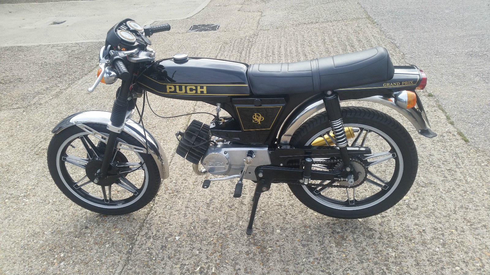 Restored Puch Grand Prix 1976 Photographs At Classic
