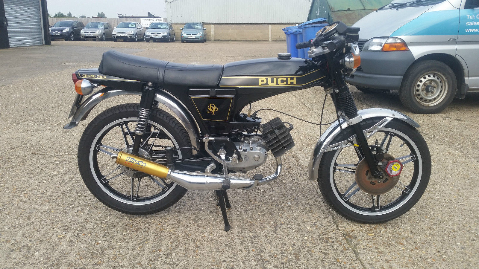 Restored Puch Grand Prix - 1976 Photographs at Classic Bikes