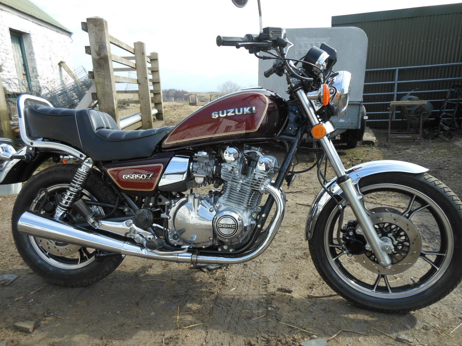 Suzuki GS850L - 1982