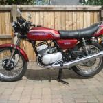 Kawasaki S2 350 - 1971