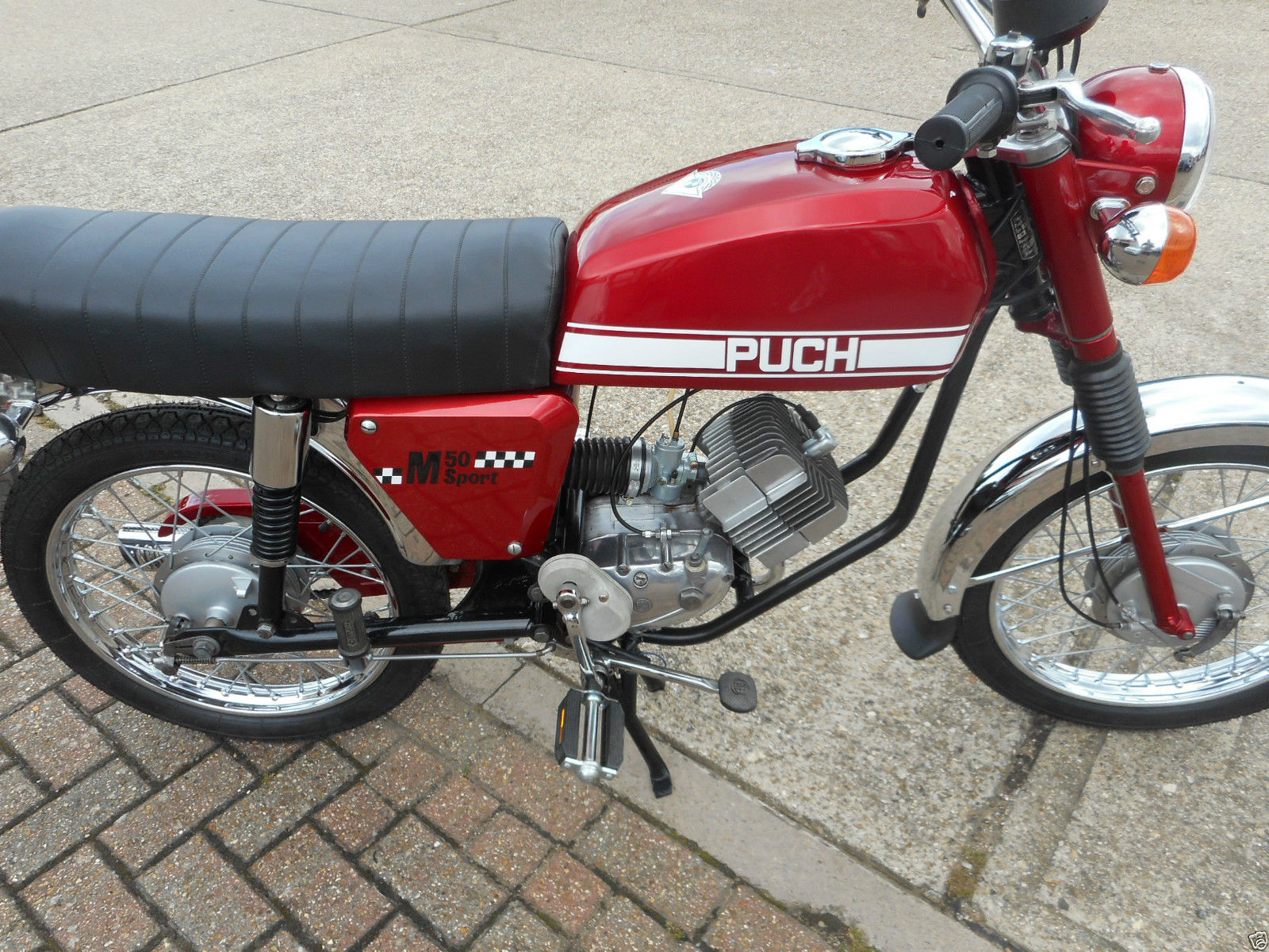 Puch M50 - 1974 - Restored Classic Motorcycles at Bikes
