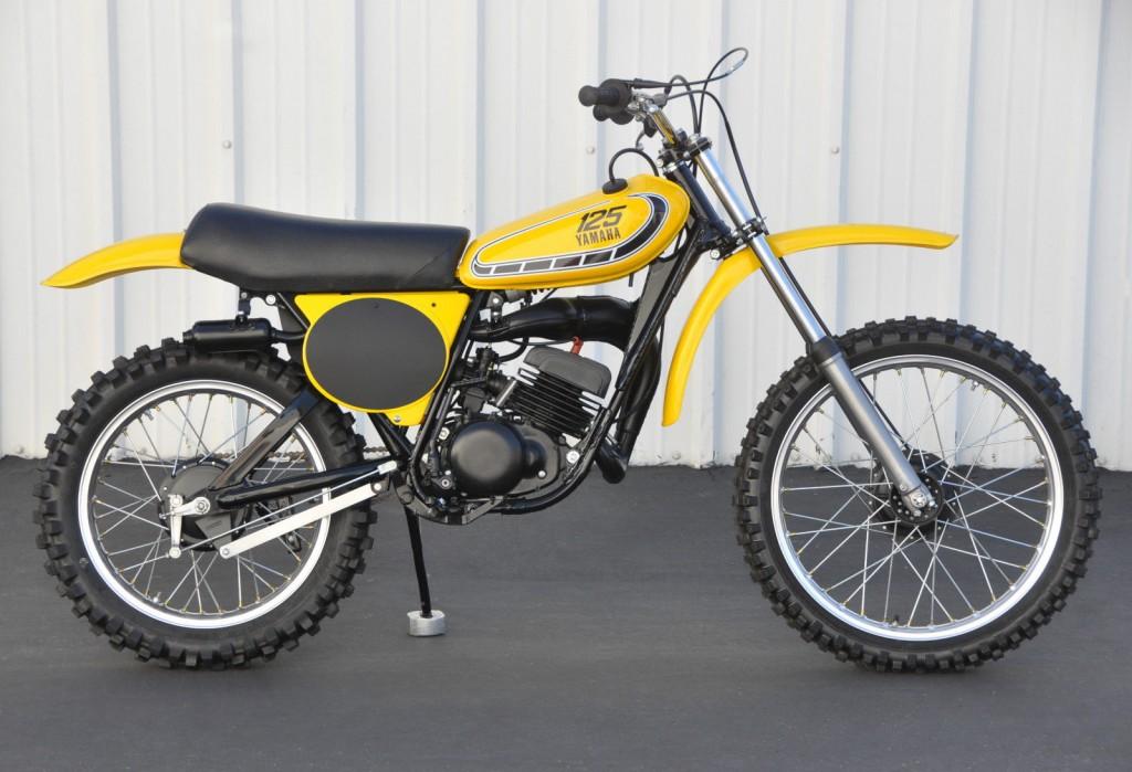 Restored yamaha yz125 1976 photographs at classic bikes for 1973 yamaha yz80