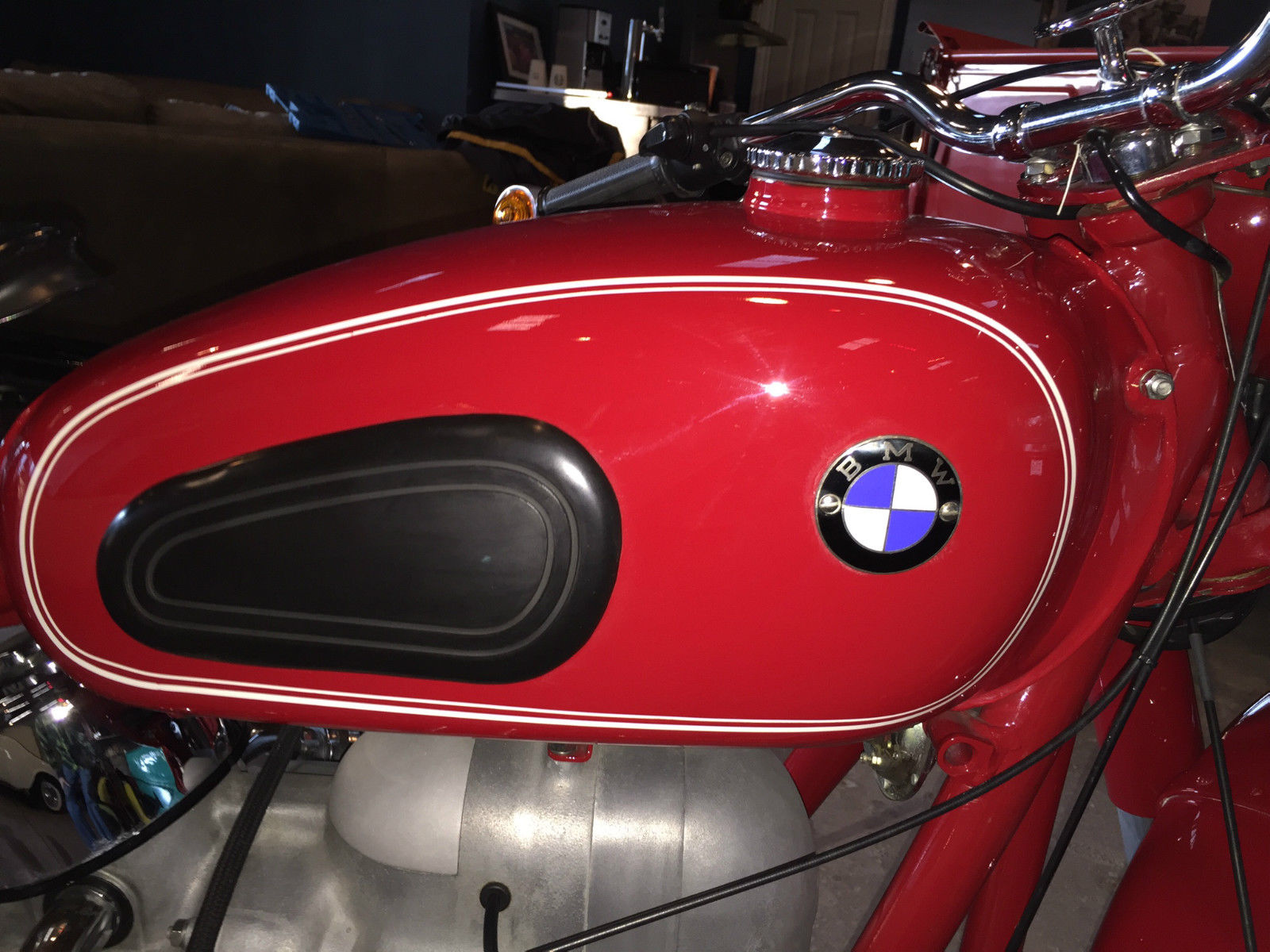 Restored Bmw R60 2 1966 Photographs At Classic Bikes