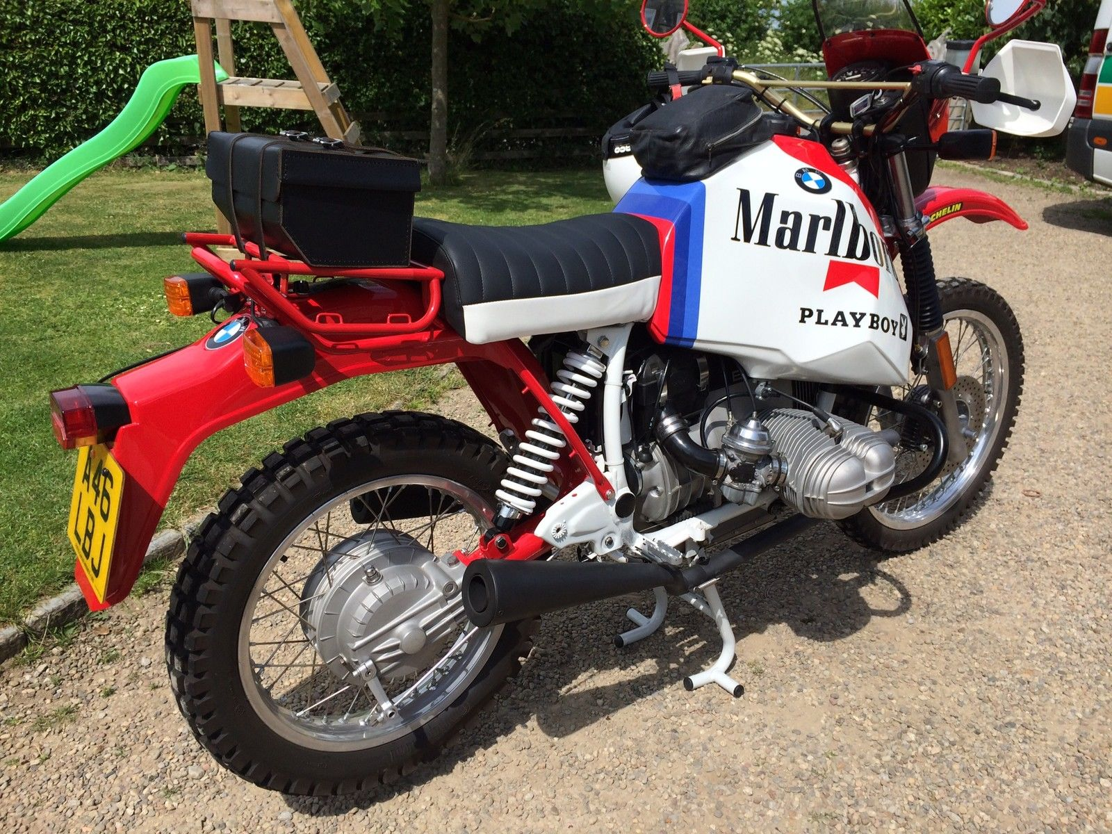Restored Bmw R80gs 1984 Photographs At Classic Bikes Restored