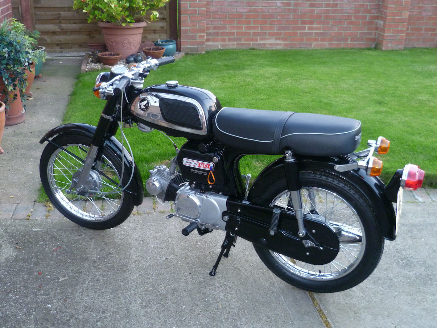 Honda CD90Z - 1970