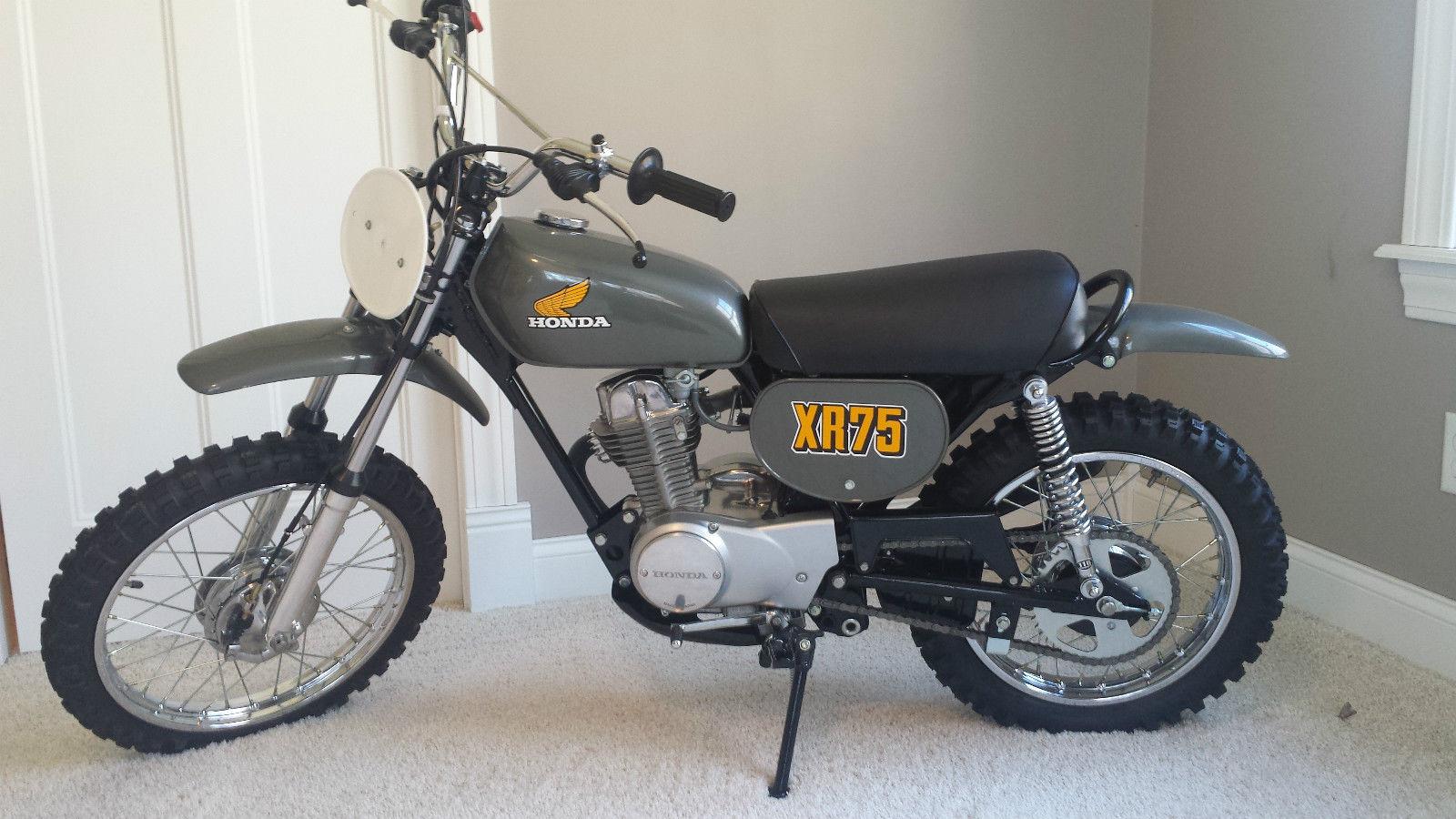 Honda XR75 - 1974