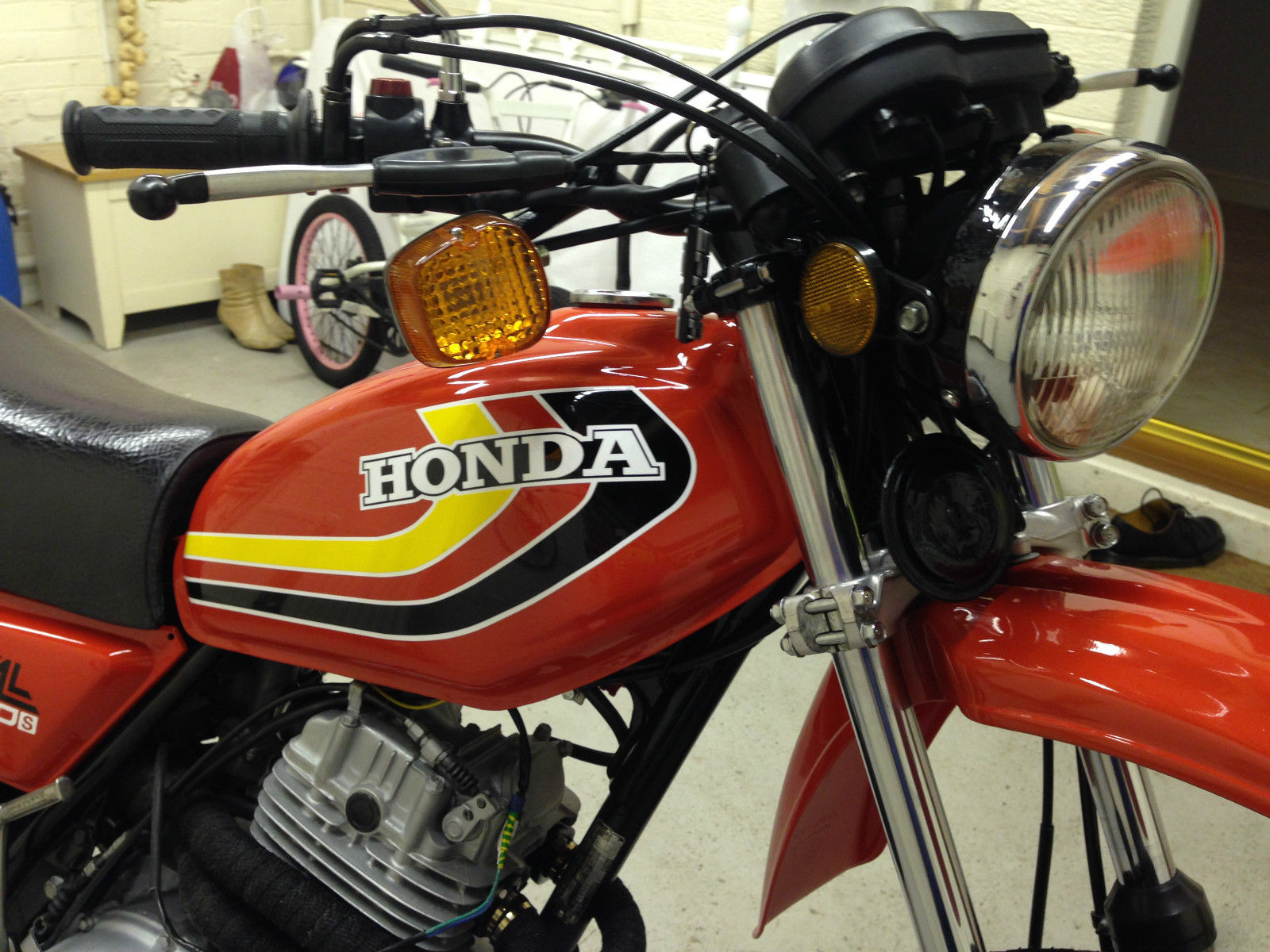 Restored Honda XL250 - 1979 Photographs at Classic Bikes ...