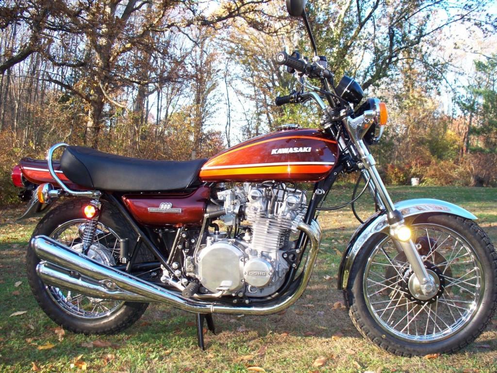Restored Kawasaki Z1 1974 Photographs At Classic Bikes Restored Bikes Restored