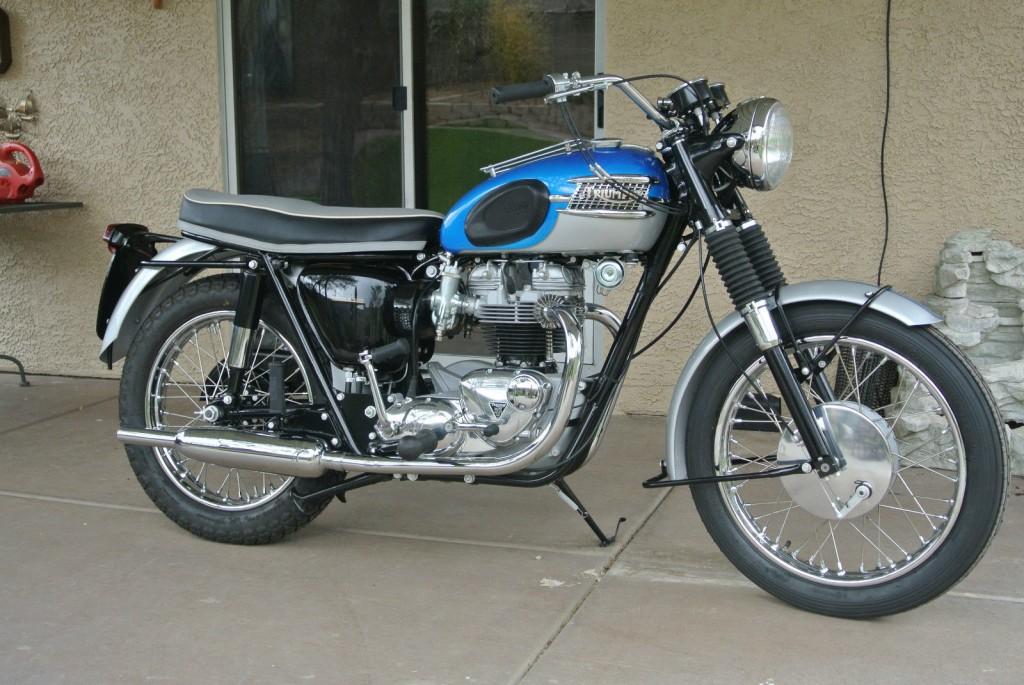 Restored Triumph Bonneville 1965 Photographs At Classic