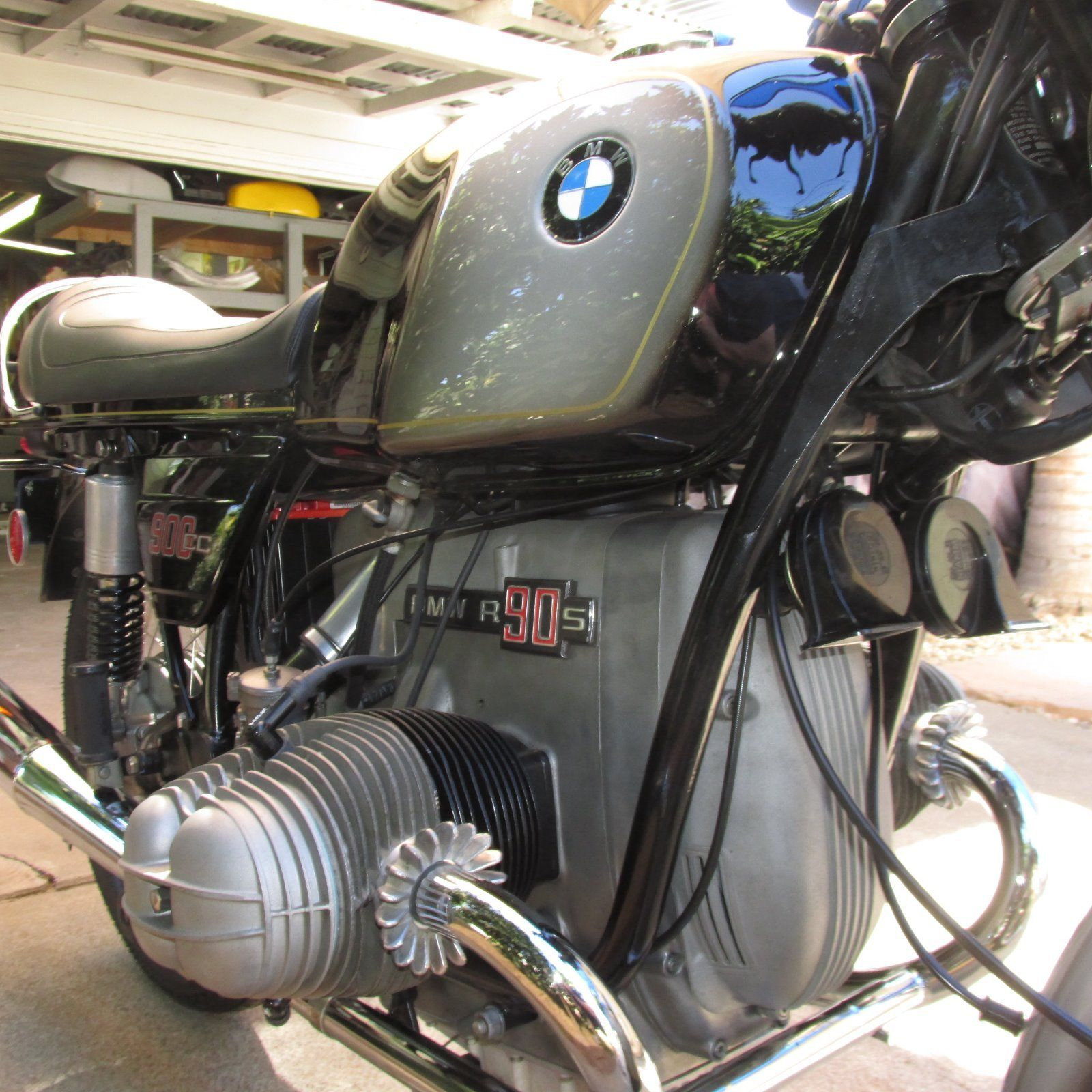 Restored Bmw R90s 1974 Photographs At Classic Bikes