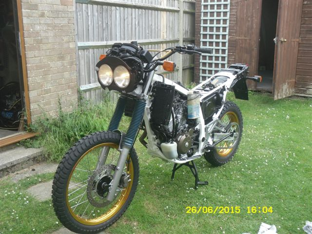 Restored Honda Africa Twin Rd03 1989 Photographs At