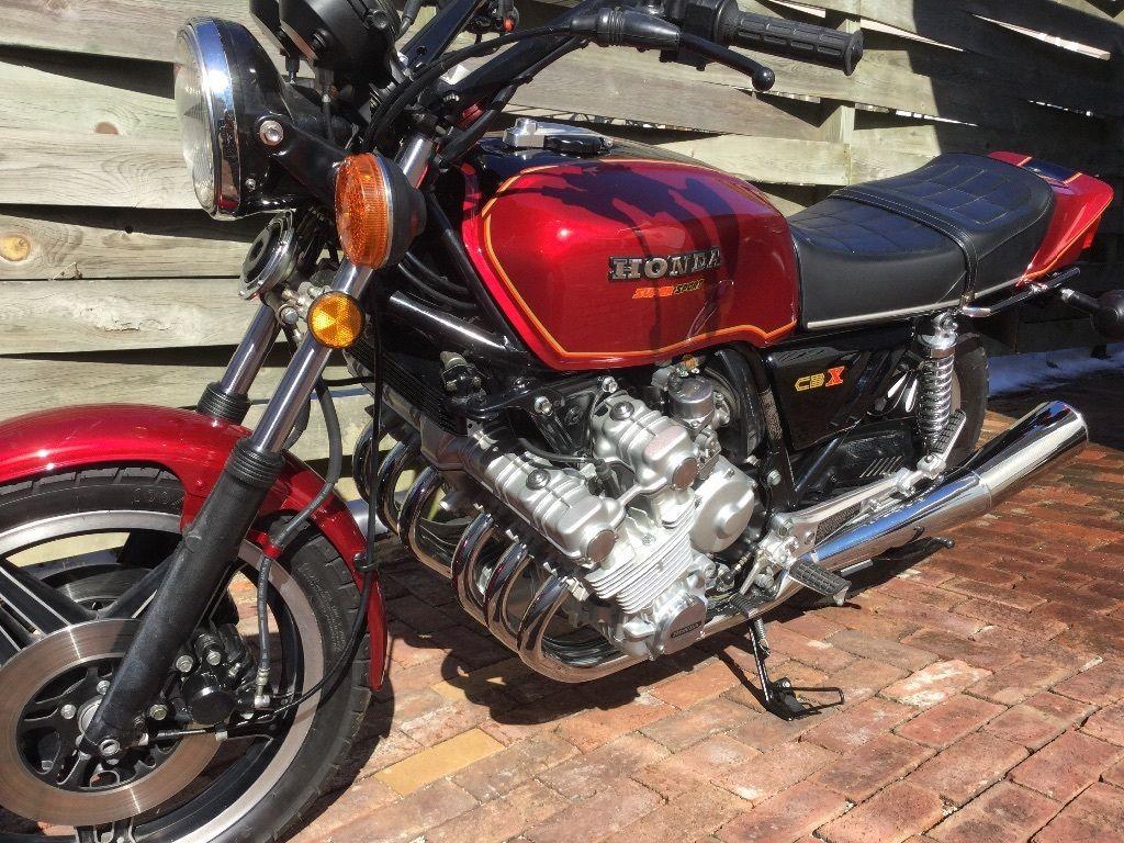 Restored Honda Cbx1000 1980 Photographs At Classic Bikes