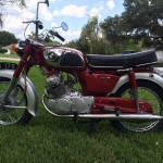 Honda CD175 - 1968