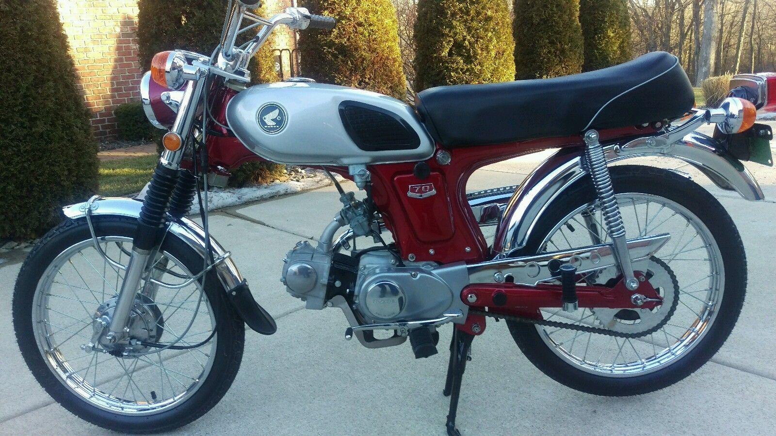 Restored Honda Cl70