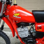 Honda CR125 Elsinore - 1980