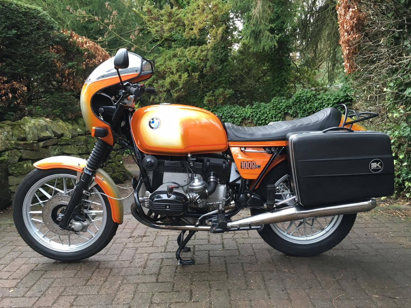 Restored Bmw R100 7 1978 Photographs At Classic Bikes