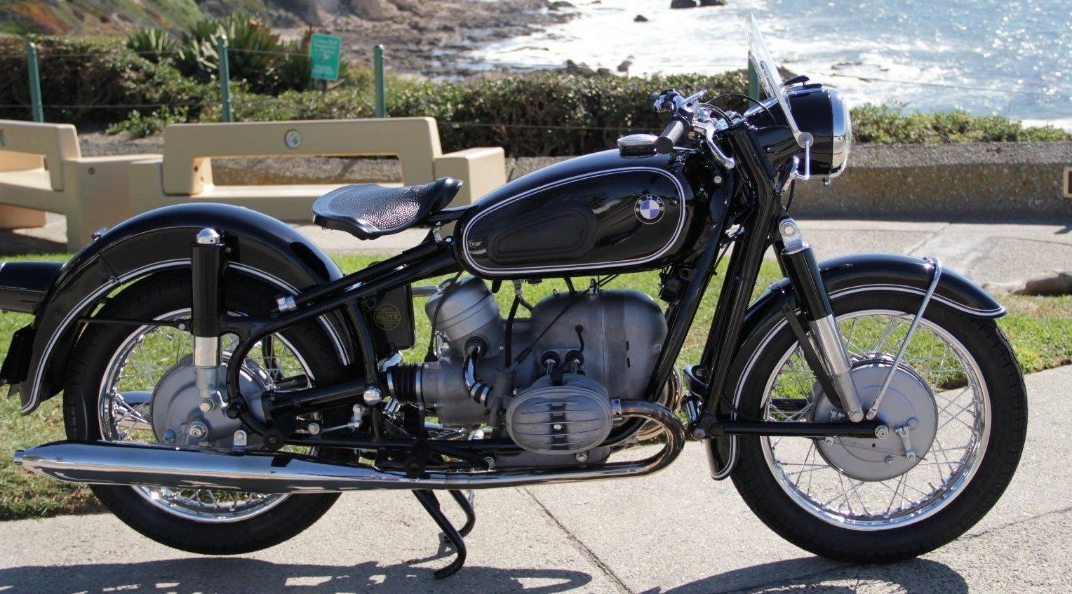 Restored Bmw R50 2 1966 Photographs At Classic Bikes