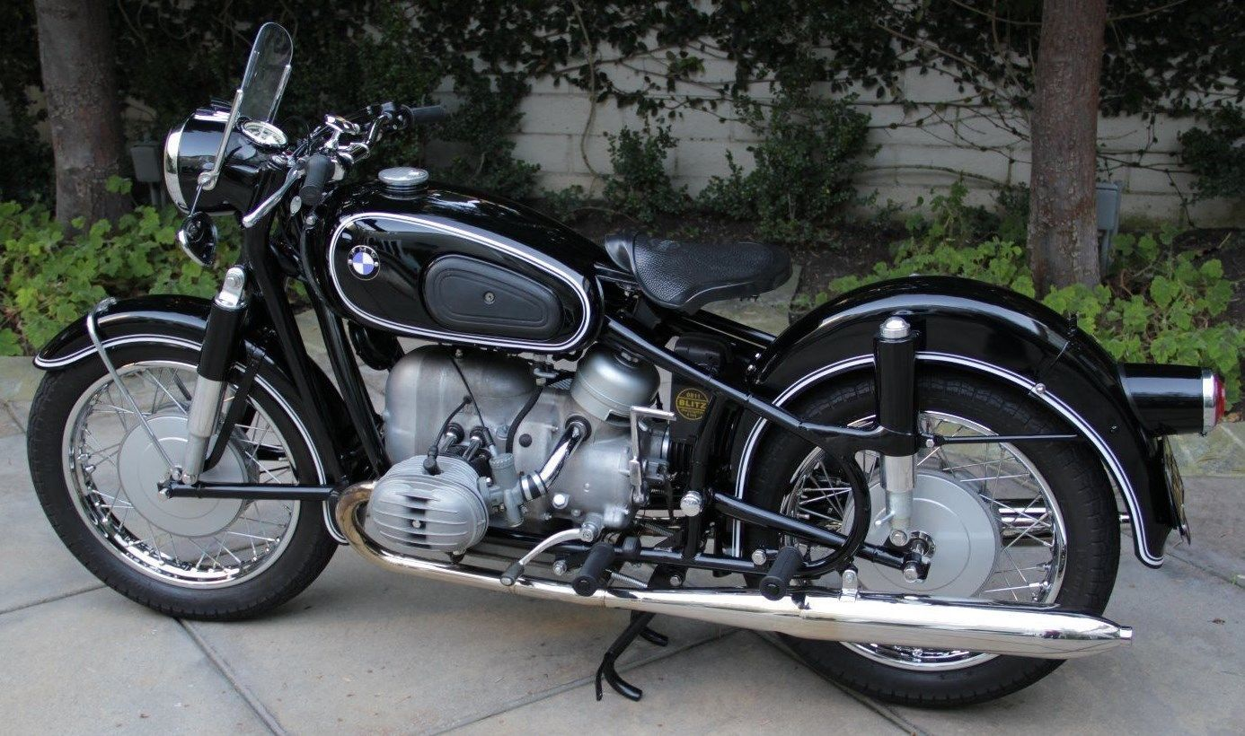 restored bmw r50 2 1966 photographs at classic bikes. Black Bedroom Furniture Sets. Home Design Ideas