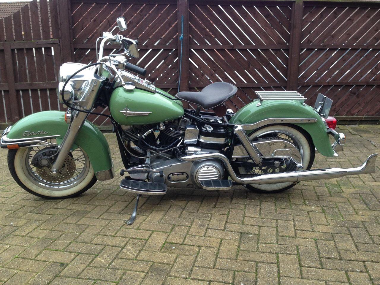 Restored Harley Davidson Flh Electra Glide 1973