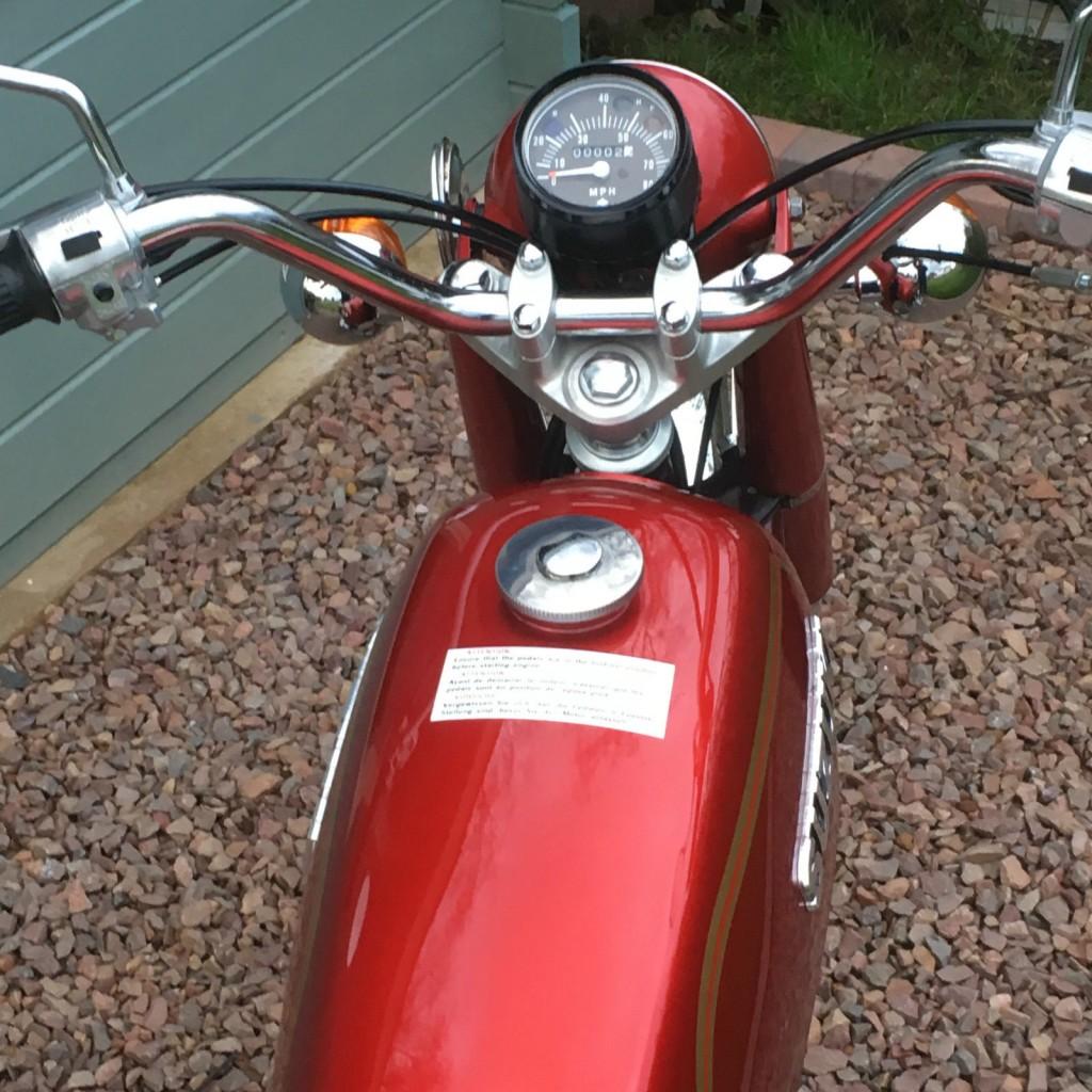Suzuki AP50 - 1977 - Restored Classic Motorcycles at Bikes Restored |Bikes  Restored