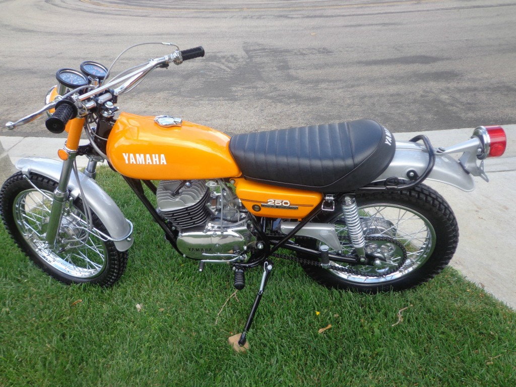 Restored Yamaha Dt250 1972 Photographs At Classic Bikes