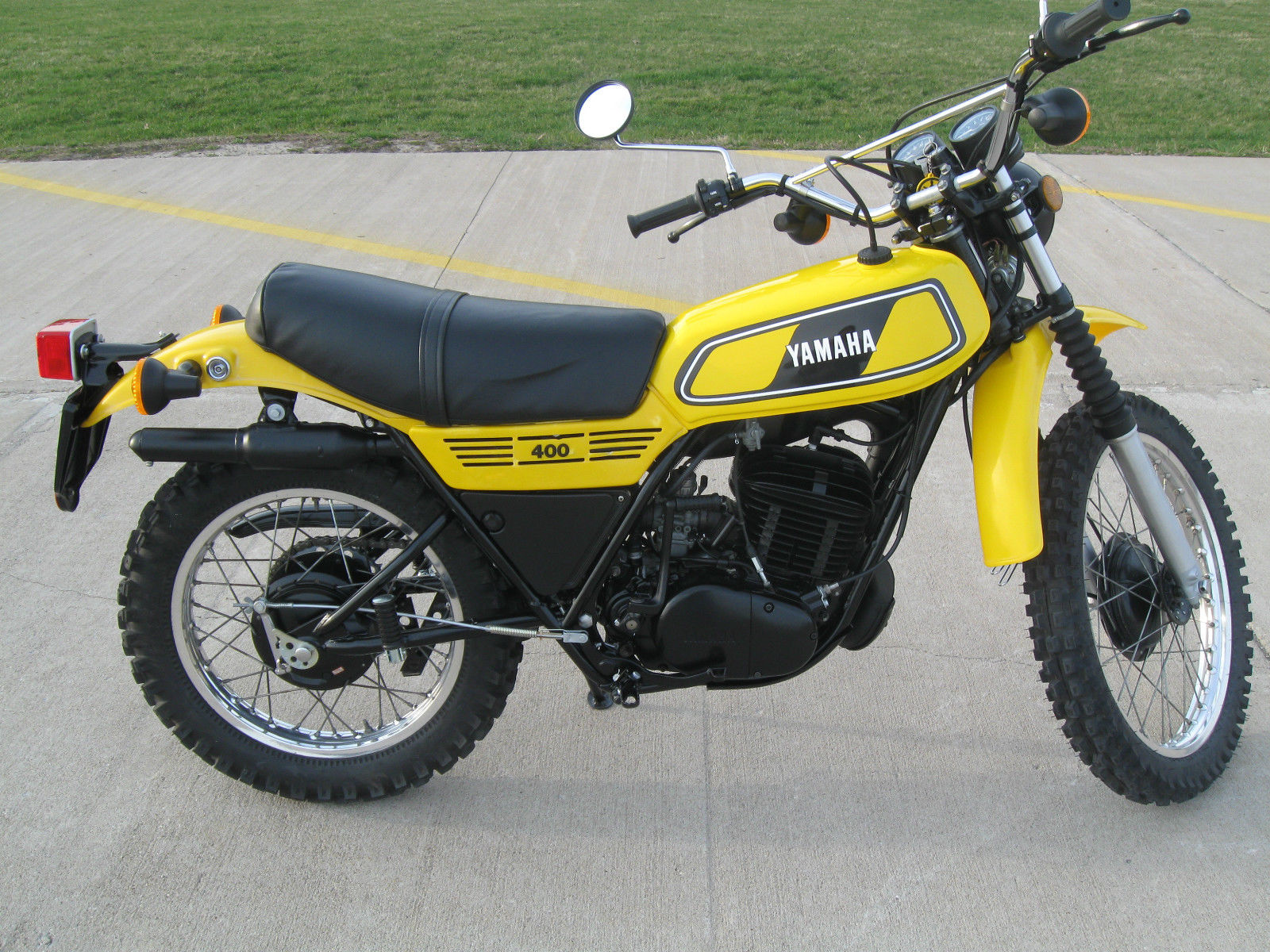 Restored Yamaha Dt400e 1978 Photographs At Classic Bikes Restored Bikes Restored