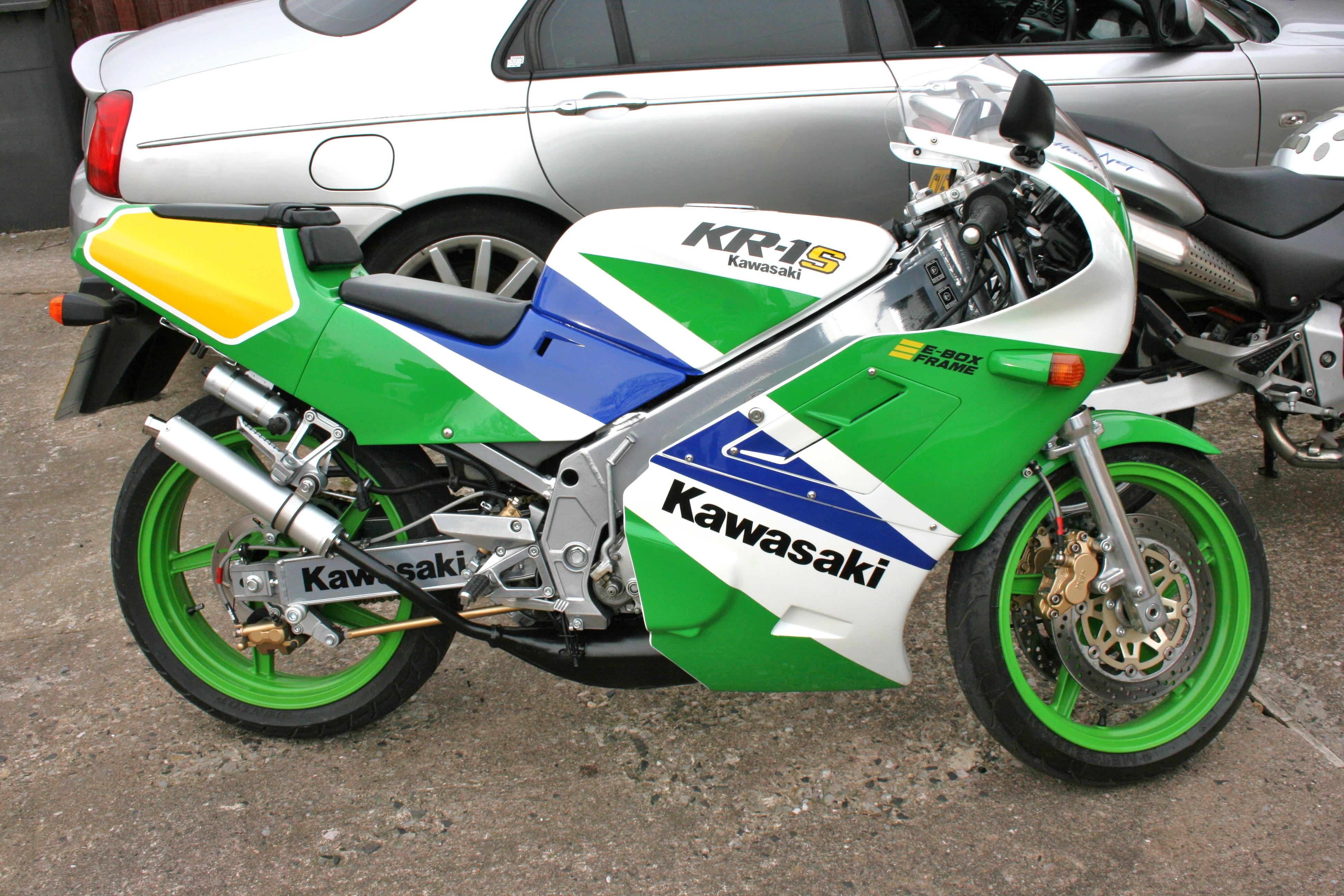 Genuine Kawasaki KR1 o KR1-S rodamientos de rueda trasera 1989-1992