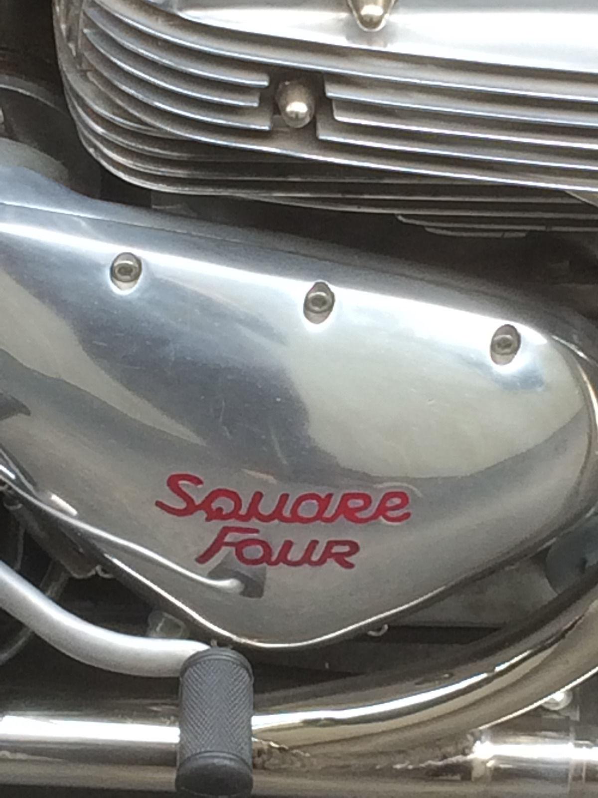 Ariel Square Four - 1957