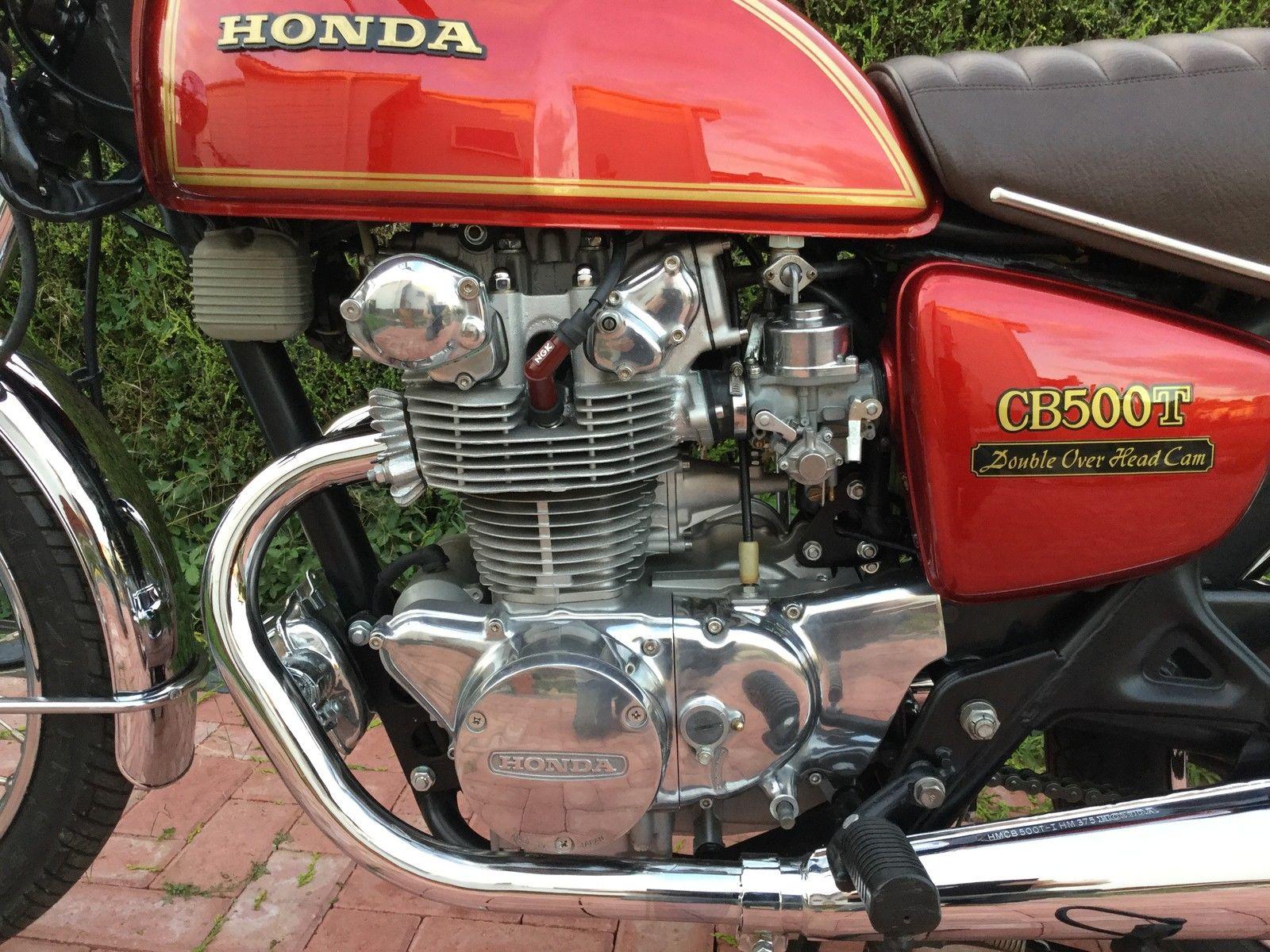 Honda CB500T - 1975