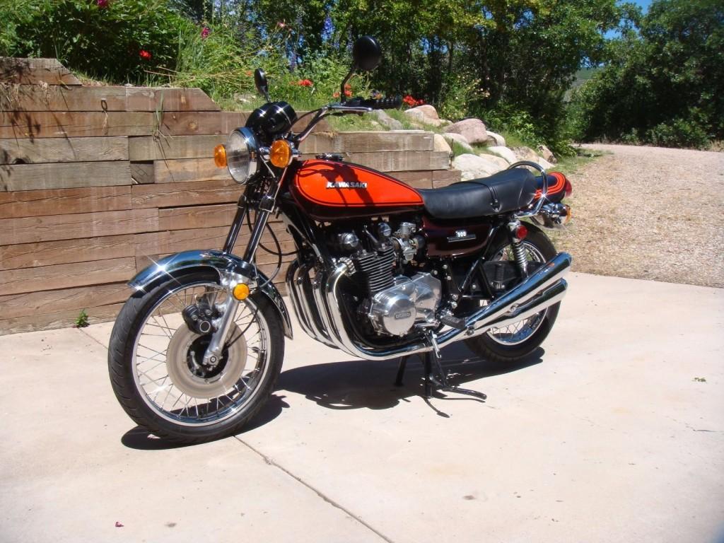 Restored Kawasaki Z1 1973 Photographs At Classic Bikes Restored Bikes Restored