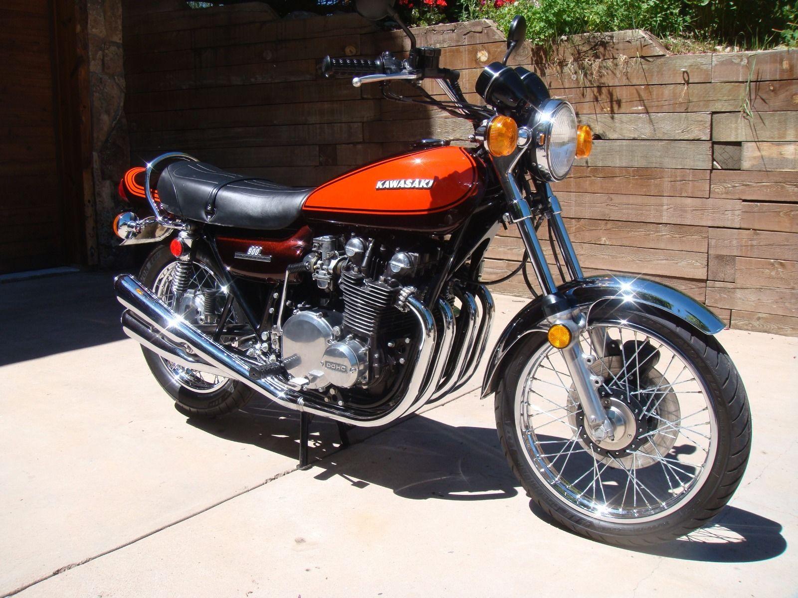 Restored Kawasaki Z1 1973 Photographs At Classic Bikes