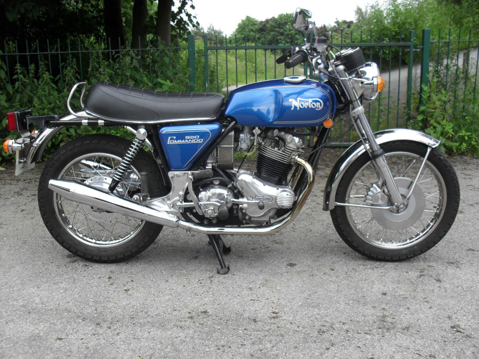 Restored Norton Commando 850 1974 Photographs At Classic Bikes Restored Bikes Restored
