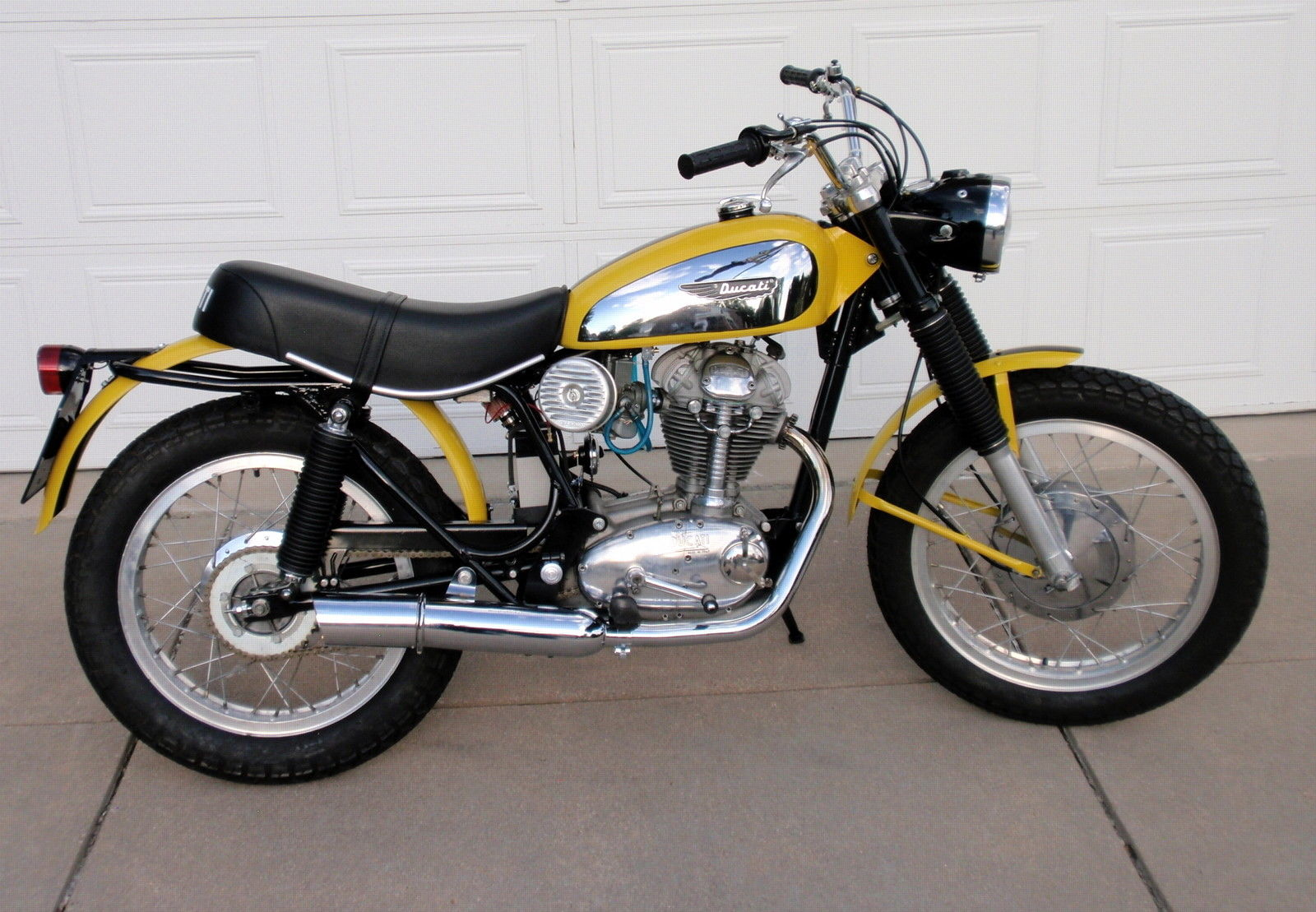 ducati 1968 1 ducati scrambler 1968 restored classic motorcycles at bikes  at panicattacktreatment.co