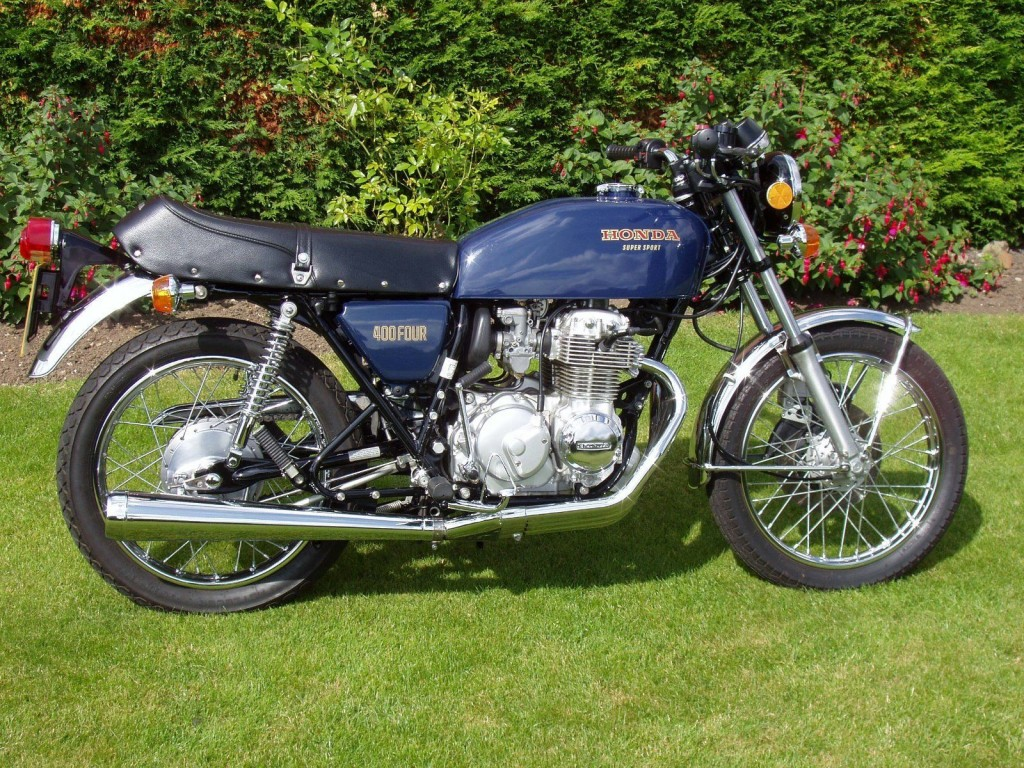 Honda cb400 four 1976 restored classic motorcycles at for Honda cb400 for sale