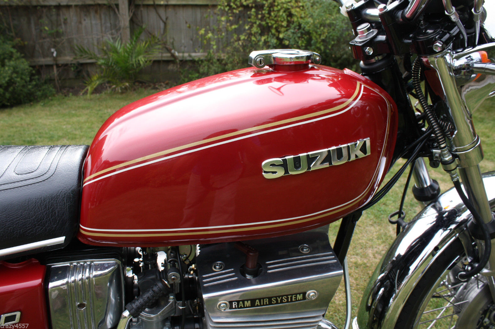 Suzuki GT550A - 1976