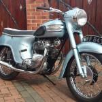Triumph T21 Bathtub 350 - 1958