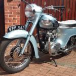 Triumph T21 350 - 1958