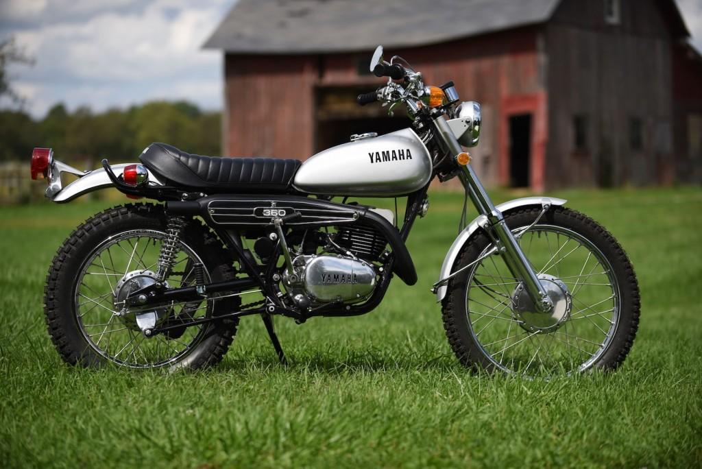 Restored Yamaha Rt2 360 1972 Photographs At Classic Bikes Restored Bikes Restored