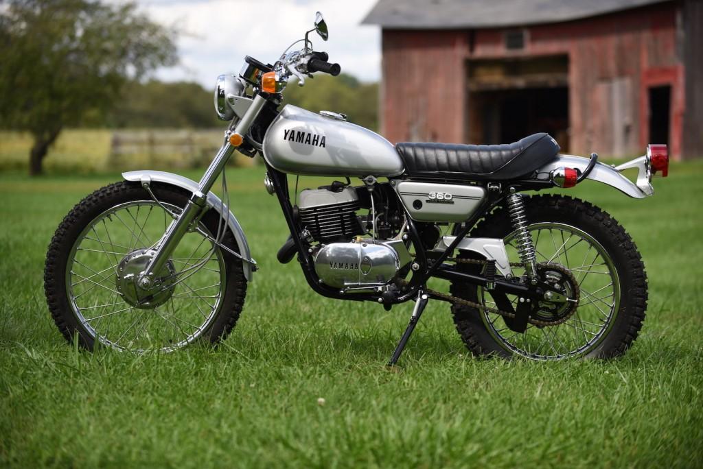Yamaha rt2 360 1972 restored classic motorcycles at for Yamaha 360 enduro