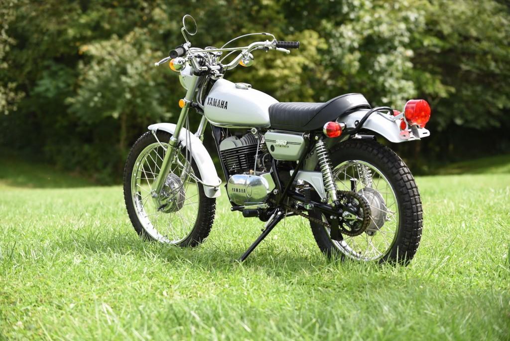 Restored yamaha rt2 360 1972 photographs at classic for Yamaha 360 enduro