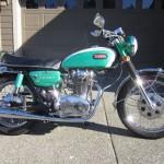 Yamaha XS1 650 - 1970
