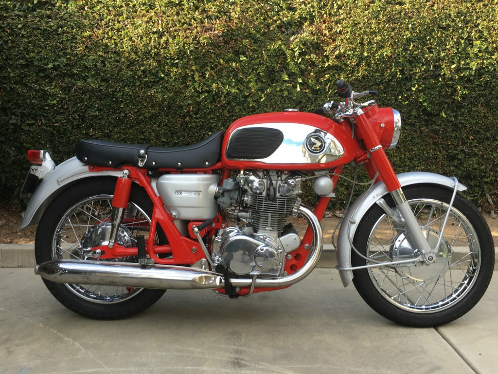 Restored Honda Classic Motorcycles At Bikes 1970 Ct70 Paint Colors Cb450 Red Dragon 1966