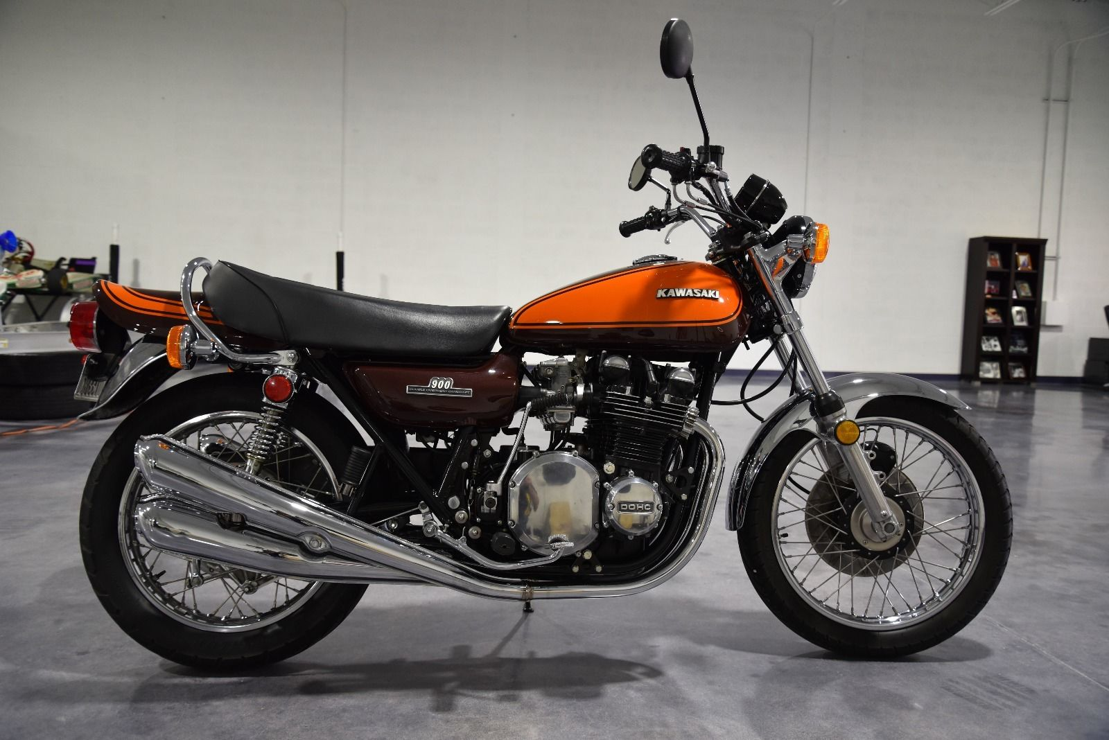 Restored Kawasaki Z1 900 1973 Photographs At Classic