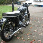 Triumph Speed Twin 5TA - 1959