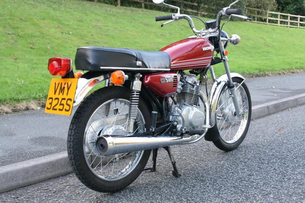 Restored Honda Cg125 1978 Photographs At Classic Bikes Restored Bikes Restored