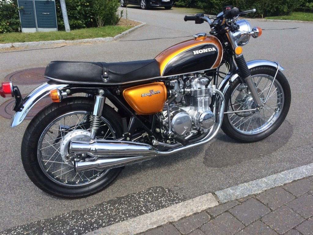 Stinger Harley Davidson >> Restored Honda CB550 Four - 1975 Photographs at Classic Bikes Restored  Bikes Restored
