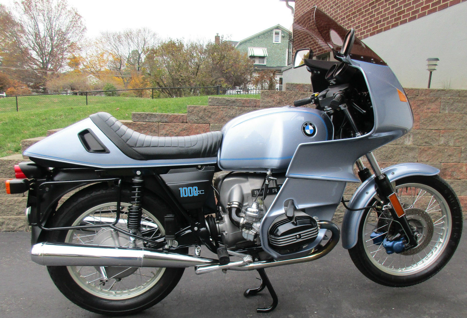 Restored Bmw R100rs 1977 Photographs At Classic Bikes Restored Bikes Restored