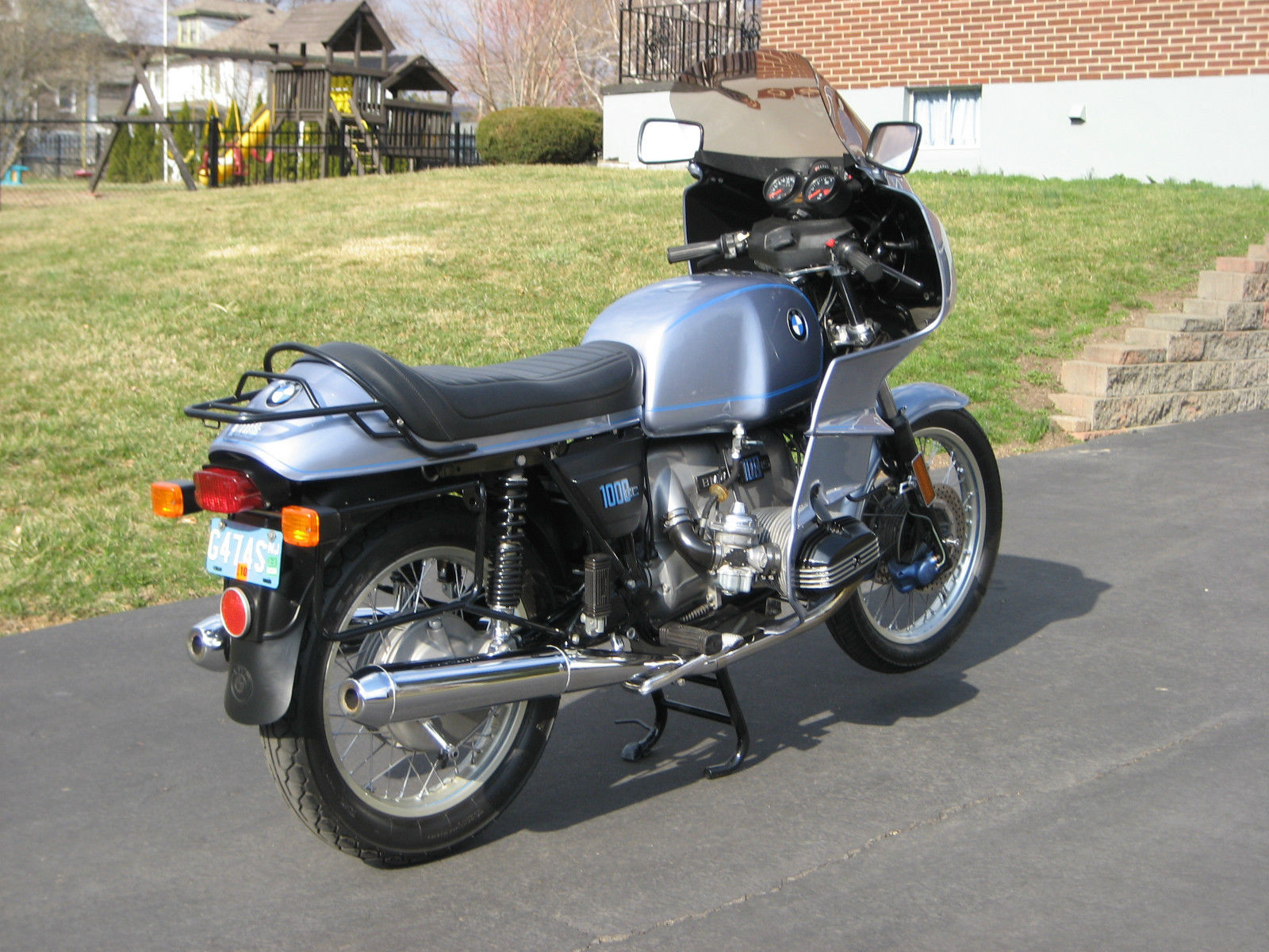 restored bmw r100rs 1977 photographs at classic bikes. Black Bedroom Furniture Sets. Home Design Ideas