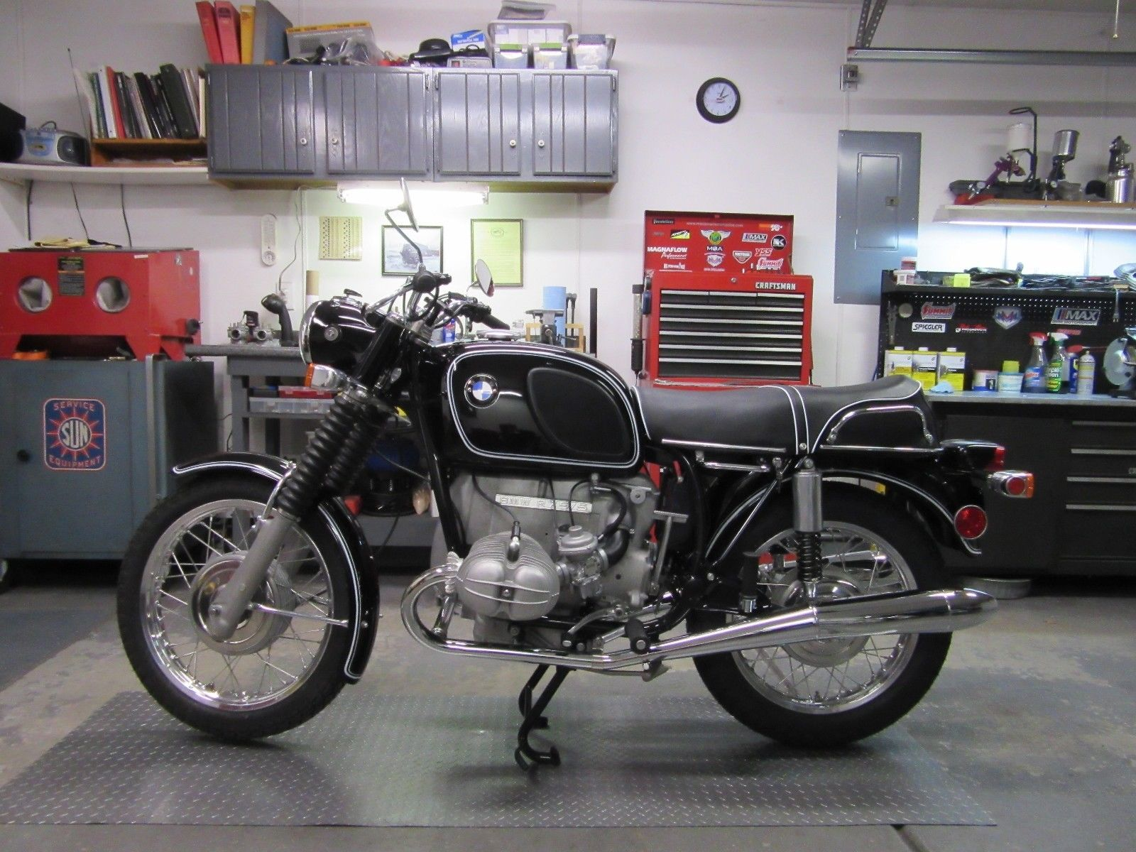 Restored Bmw R75 5 1971 Photographs At Classic Bikes